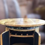 Cheeky Chicks Ltd Pub Table Solide avec Double Porte et de Stockage de la marque Cheeky Chicks Ltd image 1 produit